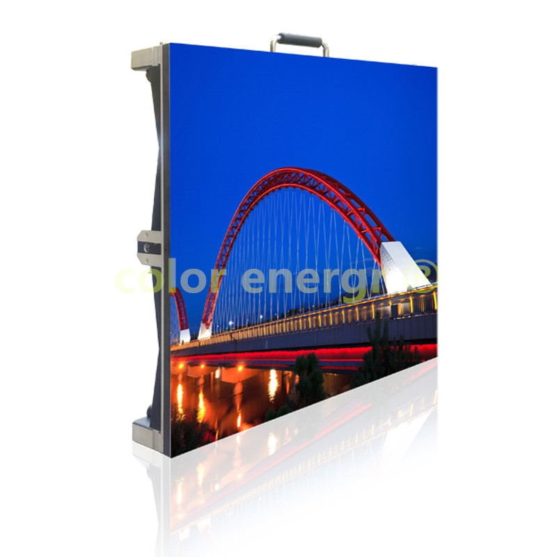 P3.91 Indoor fullcolor led screen (Die-casting aluminum cabinet)
